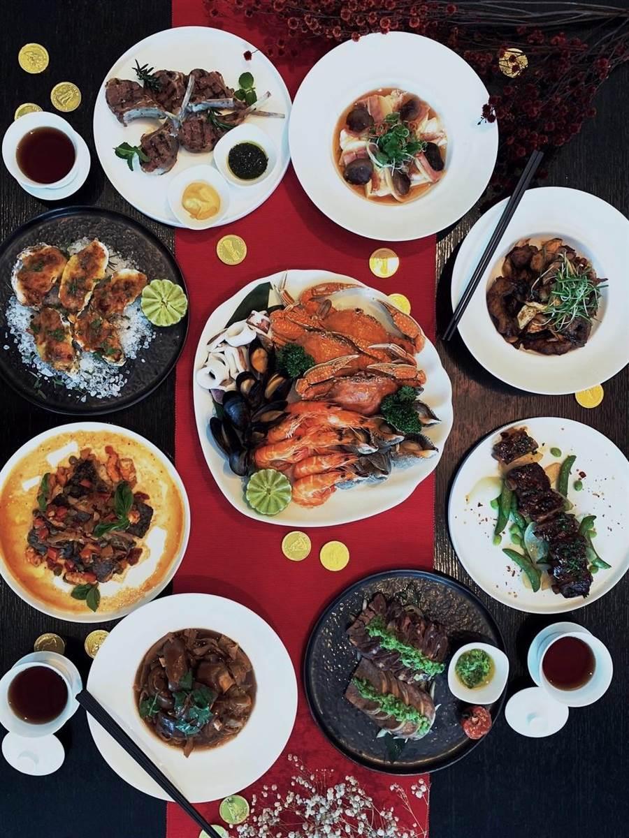 想要分享今年的年夜飯嗎?美食達人教你怎麼拍出好照片。(圖/蘋果提供)