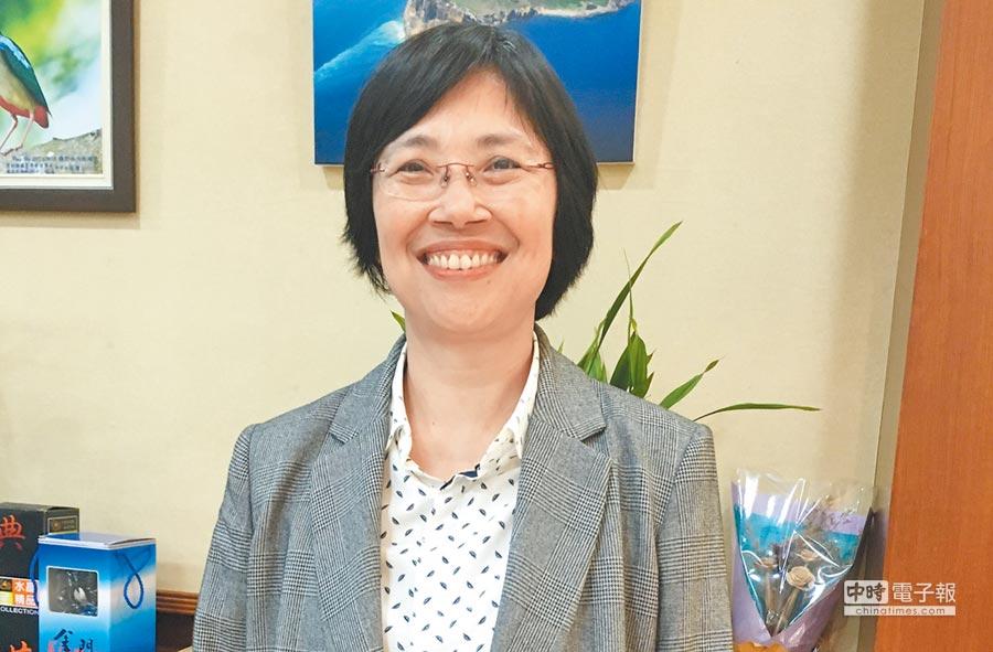 嘉義地檢署檢察長郭珍妮31日起調任台南高分檢主任檢察官。(廖素慧攝)
