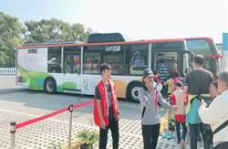 春節連假賞花博 中市府籲搭火車、接駁車