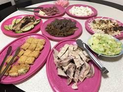 波麗士年夜飯超豐盛 永和警圍爐好幸福