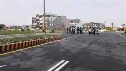 施工封閉1年多 員林大道四段T字路口搶通迎返鄉車潮