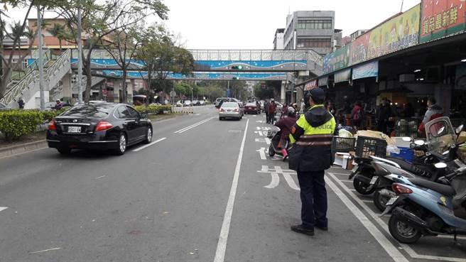 中壢警方在春節期間規畫各項交通服務措施。(警方提供)
