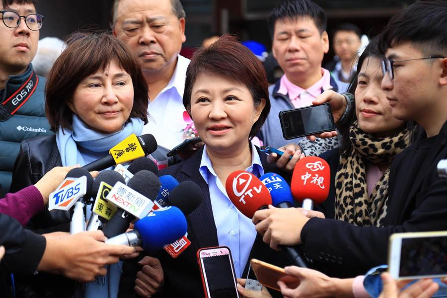 台中市長盧秀燕表示,花博權利金1日完成匯出程序。(盧金足攝)