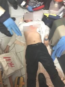 歹過年欲燒炭輕生 警施CPR黃金救援