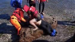 馬崗漁港釣客惡浪墜海 救起後送醫不治