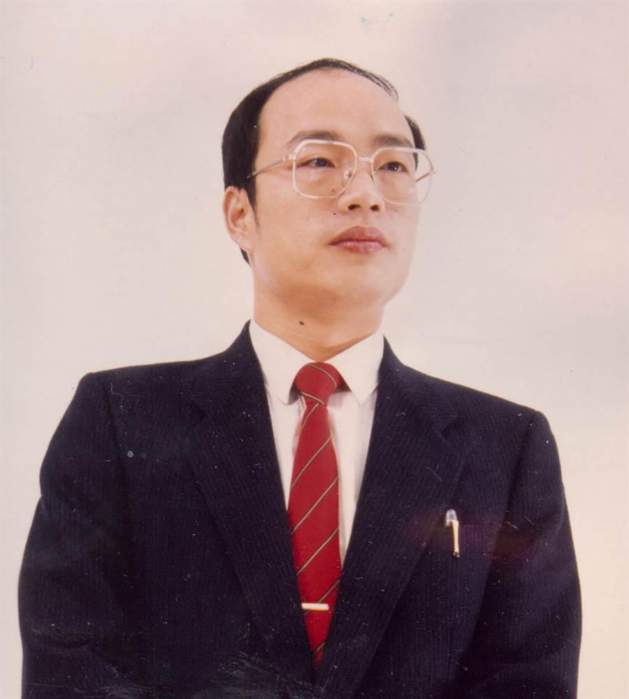 高雄市長韓國瑜,早年擔任立法委員時照片。(圖/本報資料照,黃天如攝)