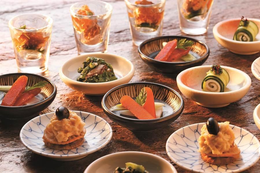 冬季懷石小缽道道美味,帶來全新味覺盛宴。(圖片提供/欣葉日本料理)