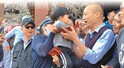 傳言去東南亞旅行 女兒看爸爸就像大孩子愛過年!韓神隱練龜息大法 被韓冰出賣
