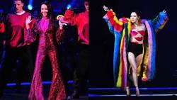 《紅白》小S彩虹裝秀白皙纖腿 王心凌17首組曲媲美演唱會