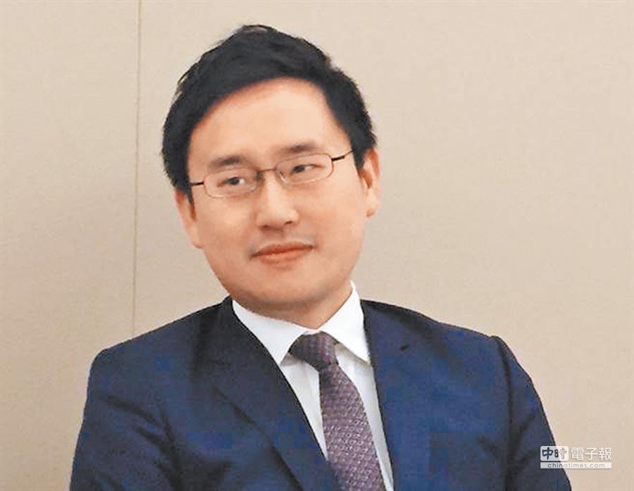 台北派來駐美代表處擔任政治組長的「口譯哥」趙怡翔。(中央社)