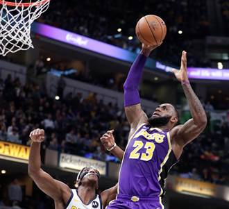 NBA》湖人輸溜馬42分 詹皇生涯最慘敗