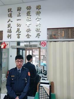 7旬老翁呆立路中 熱心警主動關心護送返家