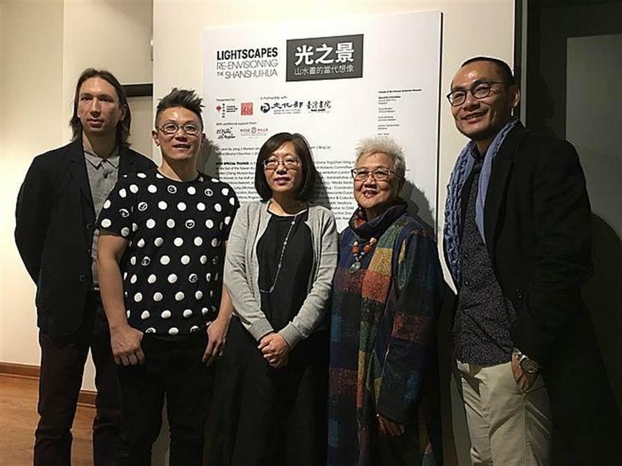 「光之景」台灣當代藝術展。(文化部提供)