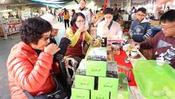 花博外埔園區好農市集 展售南投優質好茶與農特產
