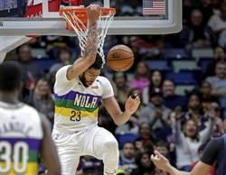 NBA》一眉哥尷尬復出 末節坐板凳看鵜鶘險勝
