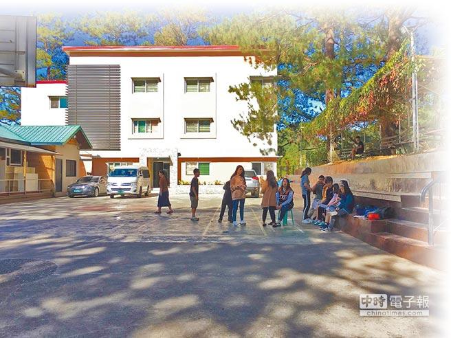 有不少台灣人到菲律賓語言學校「HELP」學英語。(中華民國全球職涯發展協會提供)