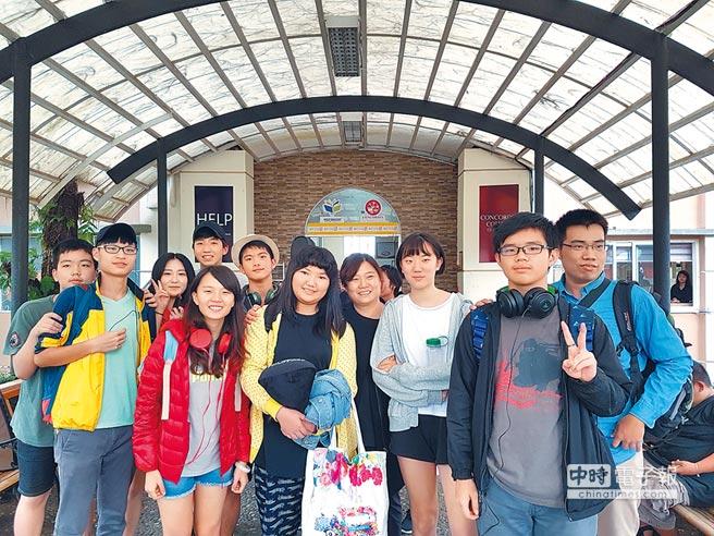 有不少台灣人到菲律賓語言學校「HELP」學英語。(中華民國全球職涯發展協會提供