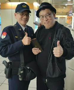 捷警隊第三分隊 協助日籍旅客尋回皮夾