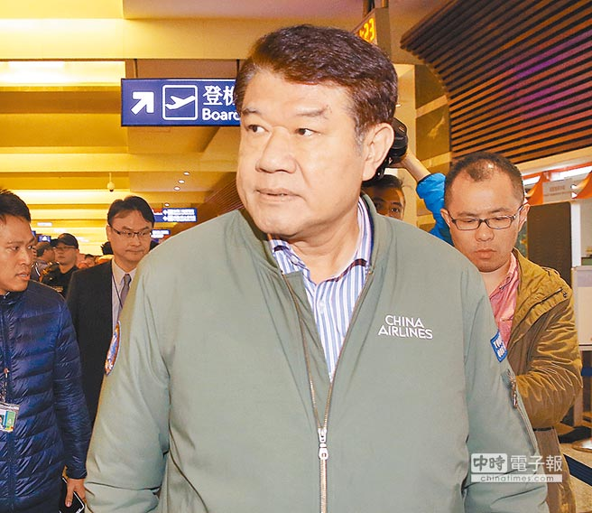 華航董事長何煖軒。圖/范揚光