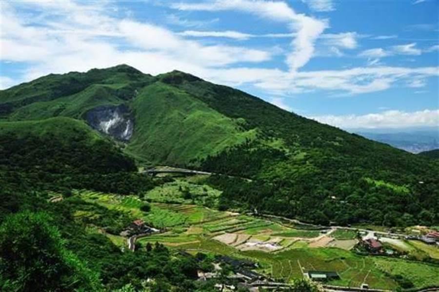 台北盆地士林12小時連2起地震,台北人擔心大屯山蠢動。圖為大屯山。 (本報系資料照)