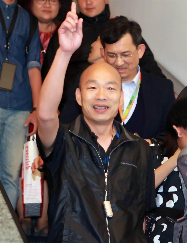 高雄市長韓國瑜。(圖/本報資料照,陳麒全攝)