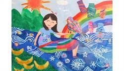 14歲女孩失去右手功能不絕望 用左手畫出對生命的堅持