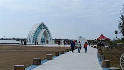 春節連假人氣回溫 北門水晶教堂遊客增2成