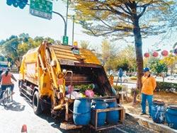 春節景點遊客多 垃圾暴增70噸