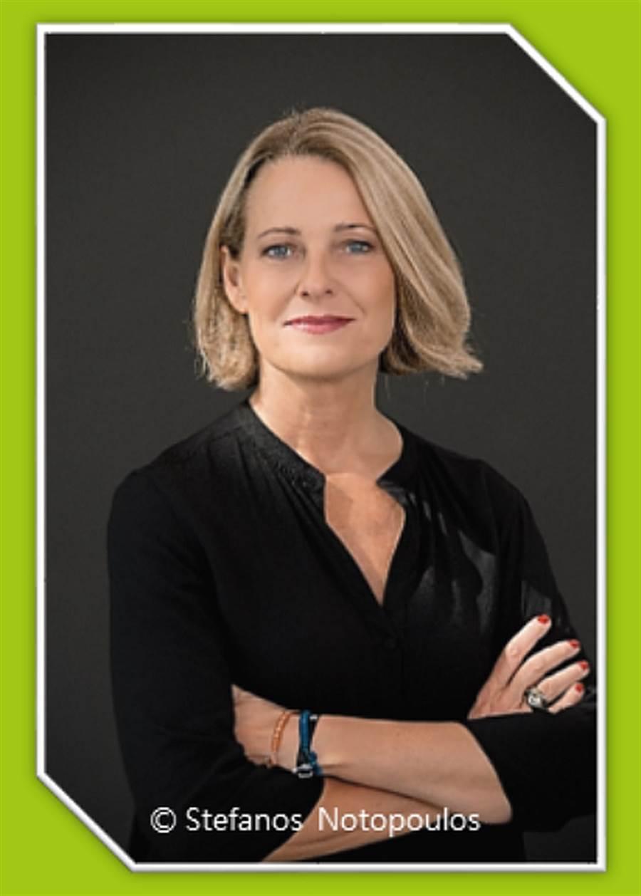 德國作家美瑞安.梅克爾( Miriam Meckel)。(台北書展基金會提供)