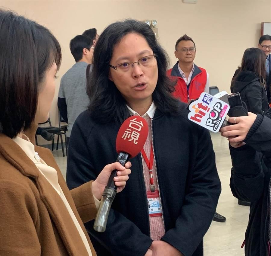 台北市勞動局長賴香伶11日表示,不應該把罷工或是把推動罷工造成別人權益(受損)就是負面的,這反而是不健康的想法。(林縉明攝)