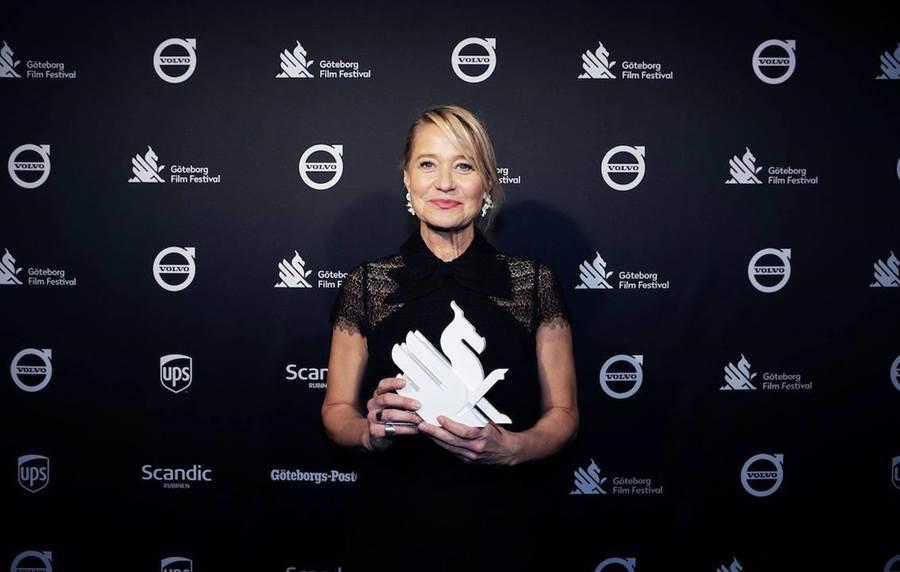 崔娜蒂虹獲瑞典哥德堡電影節年度最佳演員。(翻面映畫提供)