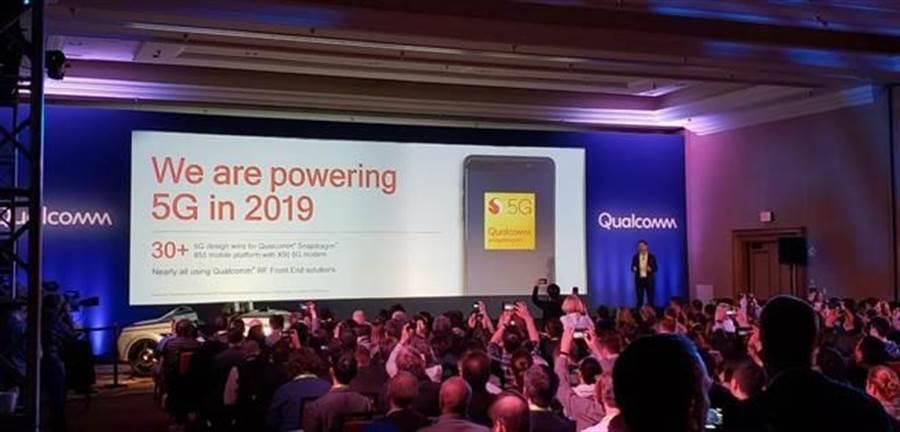高通 5G 行銷總監 Ignacio Contreras 透過 Twitter 分享今年將會有超過 30 個 5G 設備推出,且大多數都是採用高通的方案。(圖/翻攝Twitter)