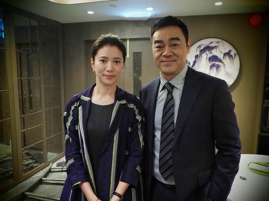 袁詠儀與劉青雲闊別已久的合作。(華映提供)