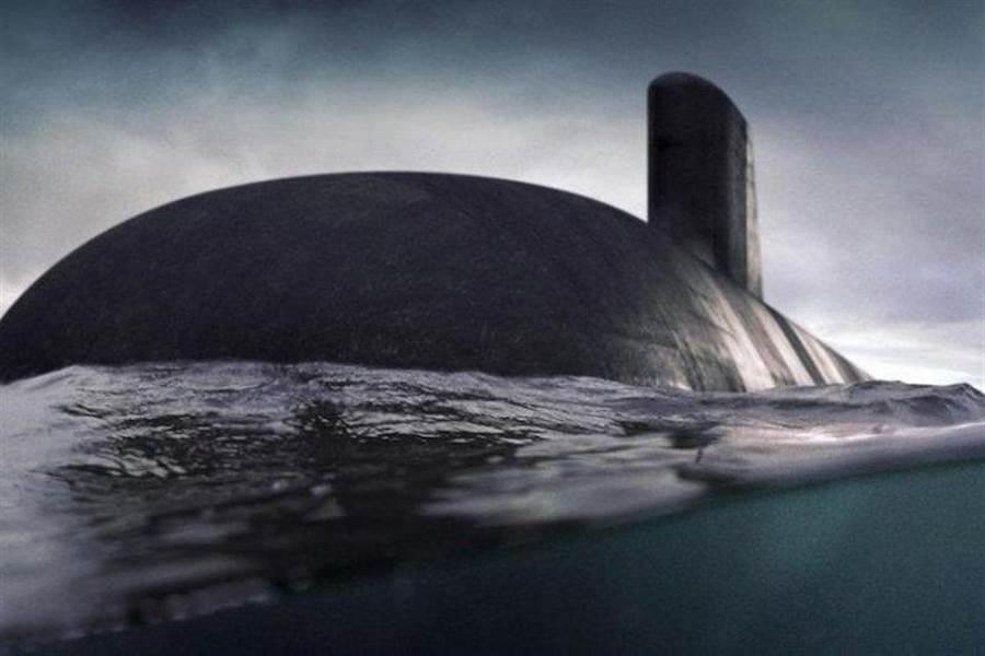 澳洲「攻擊」號(HMAS Attack)潛艦的示意圖。(海軍集團)