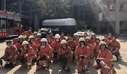 幻象武器掛彈員、船員報到 轉行樂當新竹消防員
