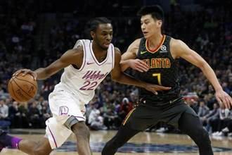 NBA》老鷹釋出林書豪 崔楊與貝茲摩表達不捨