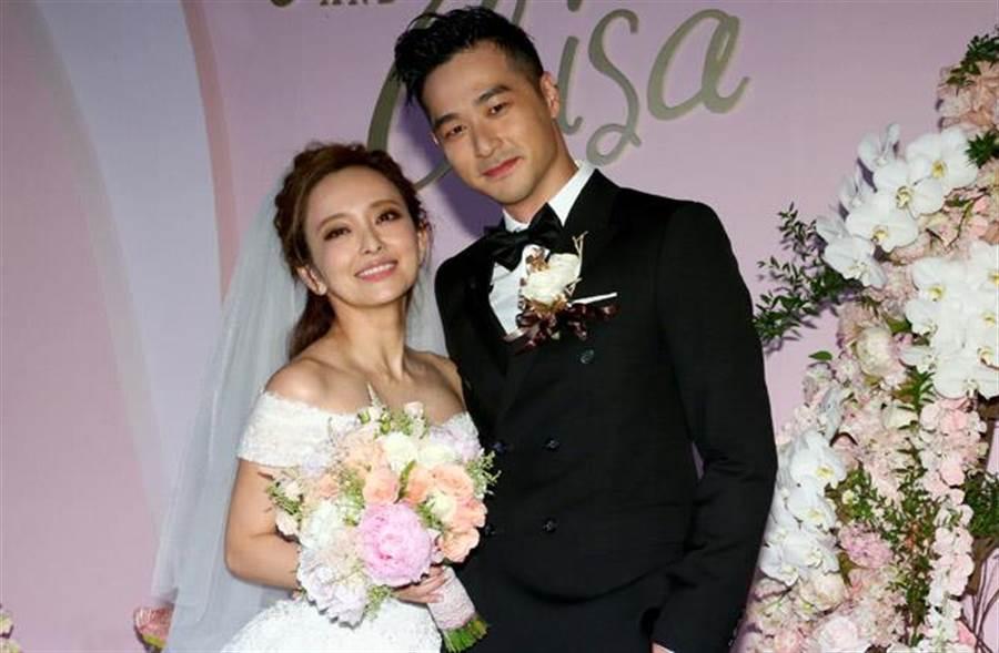 愛紗驚爆3年婚玩完,跟演員老公周洺甫先分居後離婚。(中時資料照片)
