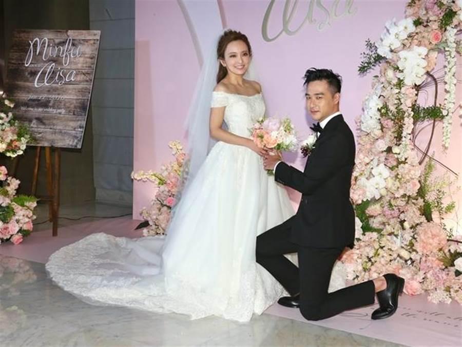 愛紗、周洺甫今爆出離婚。(圖/中時資料照片)