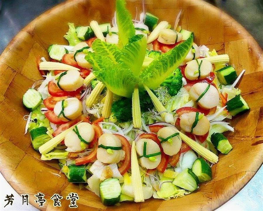 彰化市芳月亭海鮮餐廳是不少彰化人記憶中的好味道。(謝瓊雲翻攝)