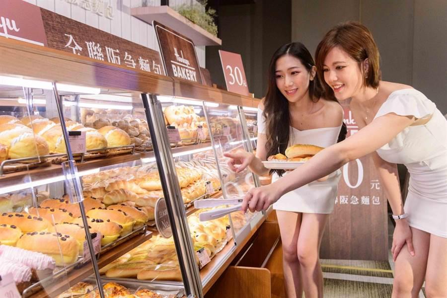 全聯所有門市預計於2020年全面導入全聯阪急麵包。(全聯提供)