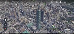 網友歡呼 台灣地區Google地圖支援3D啦
