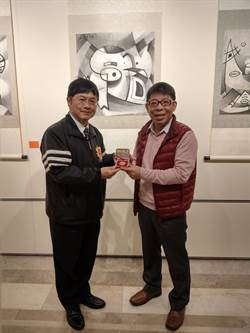 「豬」福基隆 朱源清豬藝術水墨畫展登場