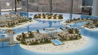 超奢華!杜拜打造「歐洲之心」!飄浮豪宅看工程極限
