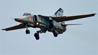 印度空軍今年第3起戰機墜毀 這次輪到MiG-27戰機