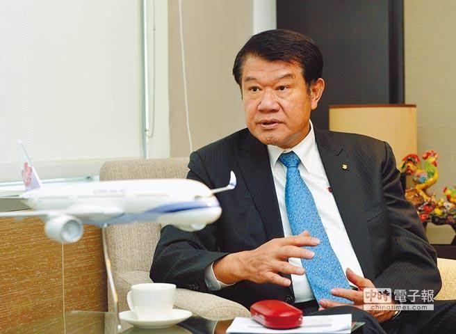 中華航空董事長何煖軒。(圖/本報系資料照)