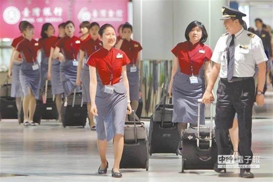 華航機師罷工,全民都在關注勞資協商的走向如何。(中時資料照)