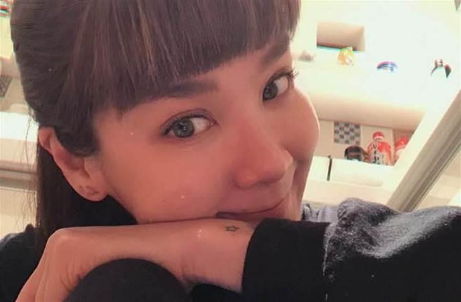 陸元琪傳出熱戀新歡已被求婚。(圖/陸元琪臉書)