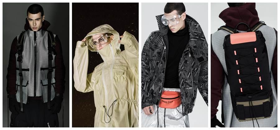 未來主義都市街頭服裝採用巴斯夫的創新材料解決方案(巴斯夫提供)