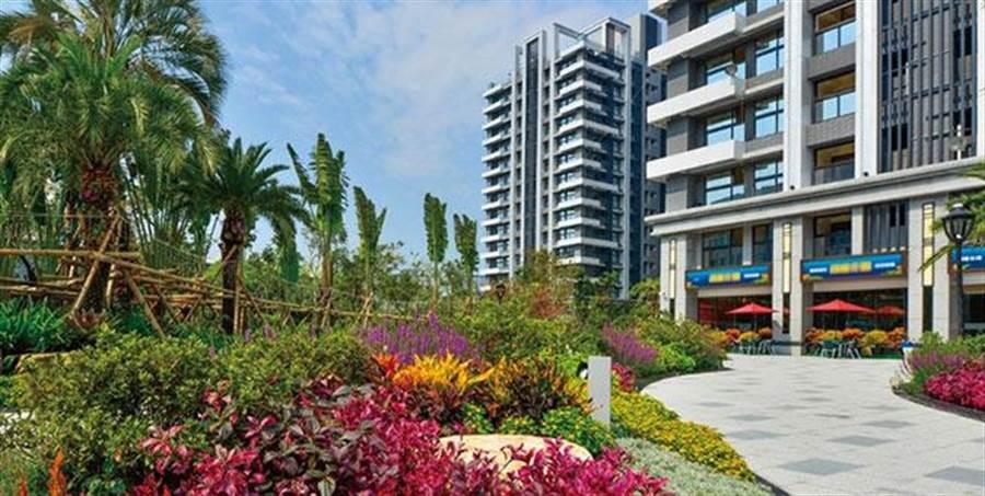 樟樹灣站旁擁有最大2459坪的基地成屋新案「超級花園」再度成為汐止、南港、內湖購屋市場的焦點。(圖/截取自超級花園官方網站)