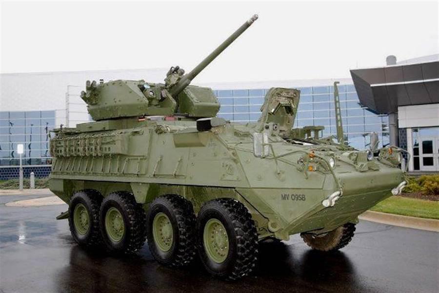 美軍稱史崔克裝甲車的網路有可能遭駭客攻擊,擾亂通訊與數據傳遞。(圖/美國陸軍)